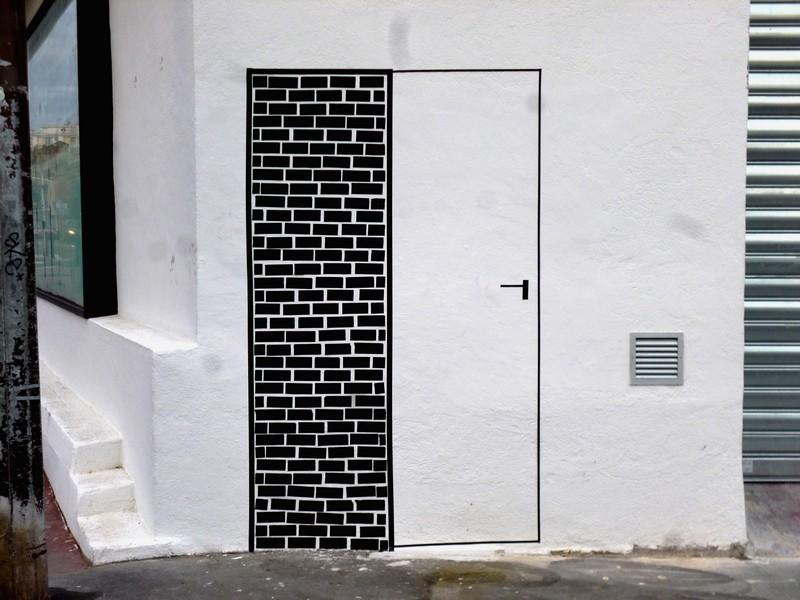 Porte sur Mur